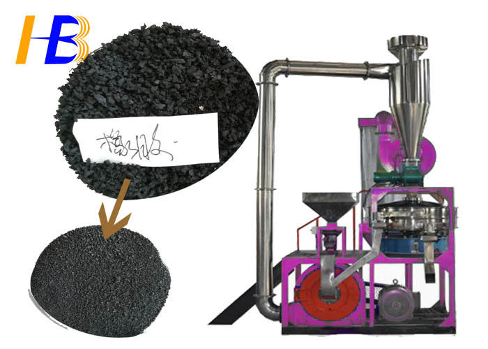 30 Mesh Powder Rubber Waste Grinder Machine Enhance Product Quality Available