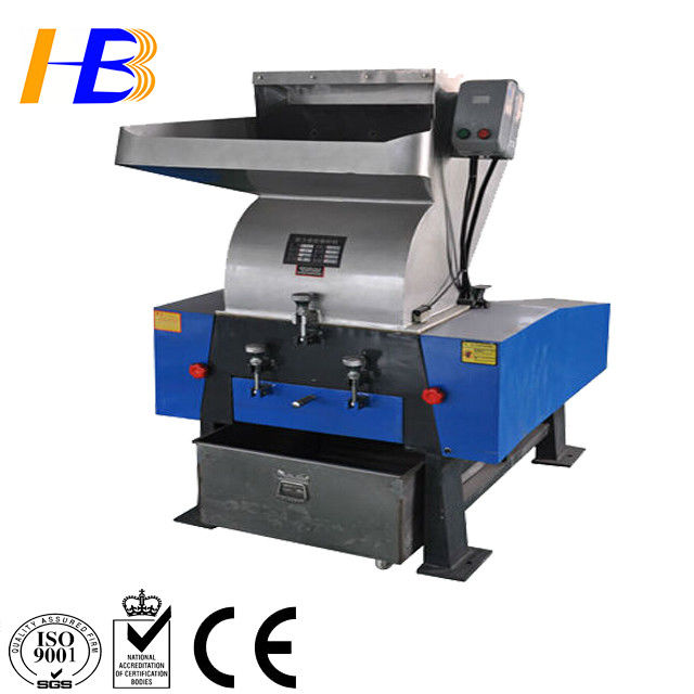Single Shaft Plastic Recycling Crusher , Plastic Water Bottle Crusher For Recycling Line